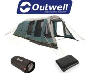 Outwell Knightdale 5PA Tent 2020 (Inc: Carpet + Footprint)